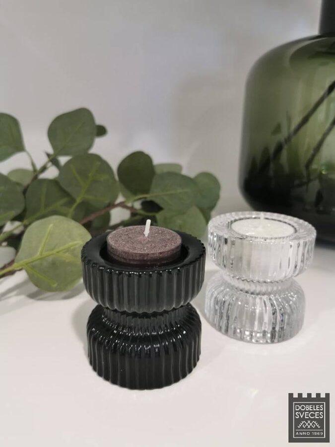 Svečturis MOOD - BLACK (divi vienā)