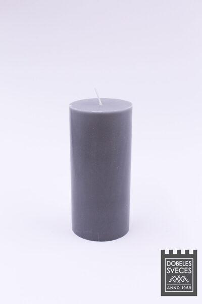 Lieta stearīna cilindriska svece - PELĒKS