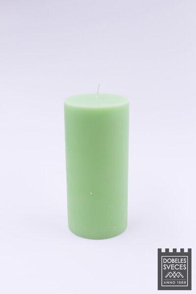 Lieta stearīna cilindriska svece - KOŠI ZAĻŠ