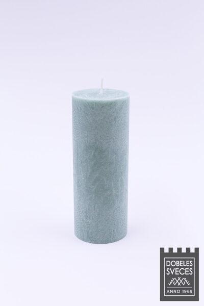 Olīveļļas cilindriska svece - MINT